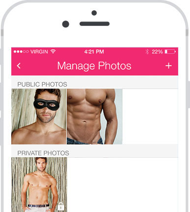 Upload Discreet and Private Photos